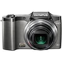 Olympus SZ-11 Traveller 3D Camera - Silver (14MP, 20x Zoom) 3.0 inch LCD