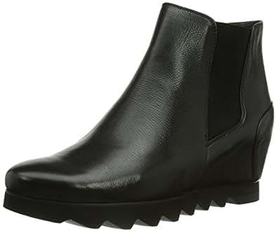 Högl shoe fashion GmbH 8-103220-01000, Damen Kurzschaft Schlupfstiefel, Schwarz (01000), 38 EU (5 Damen UK)