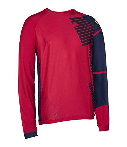 litio-helix-bicicleta-camiseta-largo-rojo-azul-2016-color-rojo-tamano-m-50