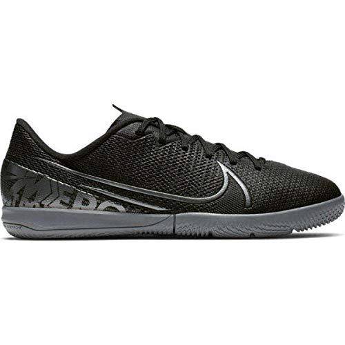 Nike Jungen Vapor 13 Academy Ic Fußballschuhe, Schwarz (Black/MTLC Cool Grey-Cool Grey 001), 36.5 EU