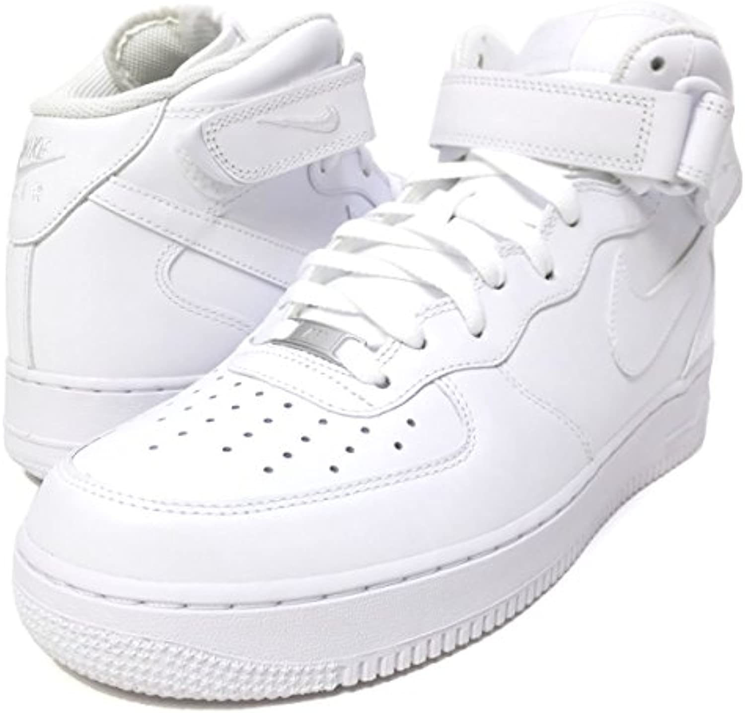 Air Force 1 Mid '07, BIANCO, 11 -
