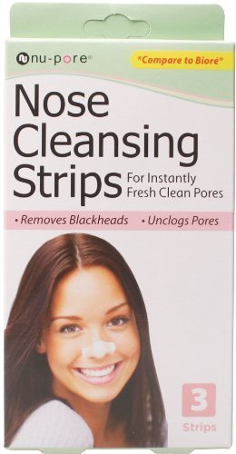 Nu-Pore Nose Cleansing Strips, Bulk Case of 48 by nu-pore (Cleansing Nu Strips Pore)