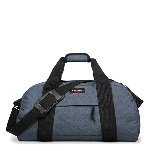 Eastpak Station Bolsa de Viaje, Diseño Double Denim, Color Azul