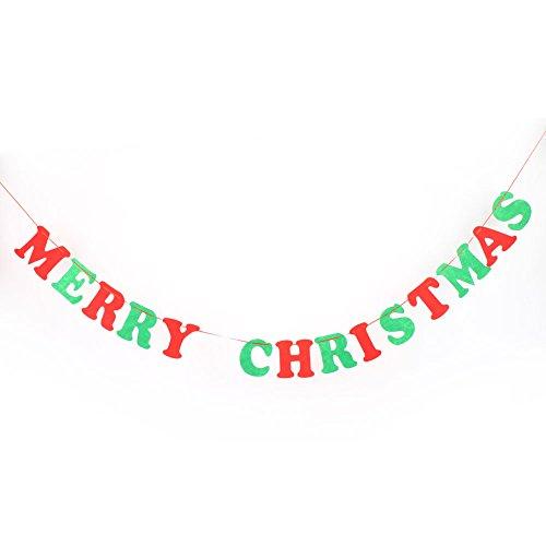 MingXiao-Zug-Markierungsfahnen-Fahnen-Weihnachtsdiy-Verzierungs-bunter Papierbuchstabe liefert Dekoration