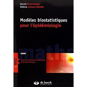 Modèles biostatistiques pour l'épidémiologie