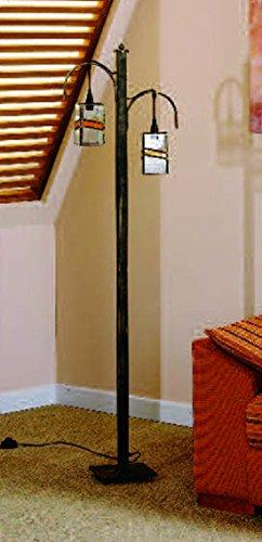 Lamparas de Pie Artesanales : Modelo AL BUSHERAT de 42x155x42cms.