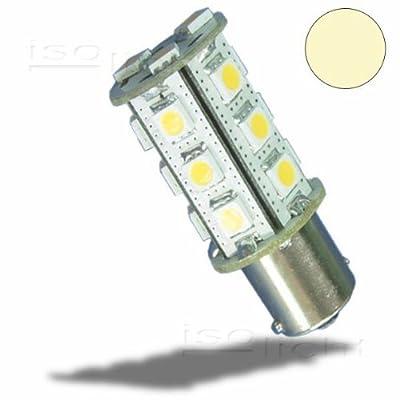 Isolicht LED BA15S Leuchtmittel, 10-30V/DC, 18SMD, 3 Watt, warmweiß von Isolicht bei Lampenhans.de