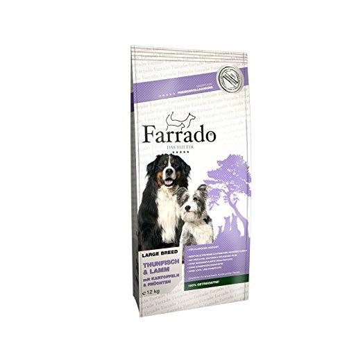 Farrado Hundefutter getreidefrei & glutenfrei – Trockenfutter mit Thunfisch für Ihren Hund (12kg)