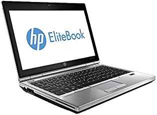 HP 2570P 31,8 cm (12,5 Zoll) Notebook (Intel Core i5 3320M, 2,5GHz, 4GB RAM, 250GB HDD, Intel HD 4000, DVD, Win 10 Pro) silber/schwarz (Zertifiziert und Generalüberholt)