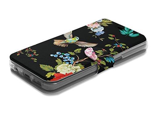 MOBIWEAR Book Style Handy Motiv Tasche Flip Case Cover Hülle für HTC Desire 650 - VD09S