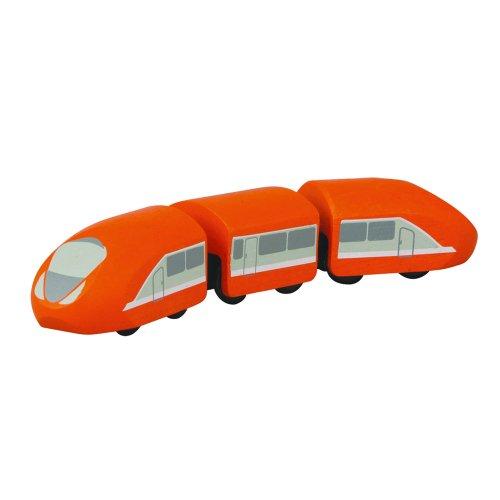 PlanToys - PT6221 - Jouet en bois - Véhicule - TGV