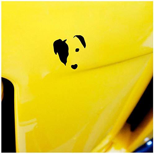 Niedliche Jack Russell Gesicht Hund Vinyl Aufkleber Auto Aufkleber 11,2 cm * 11,4 cm (5p) -