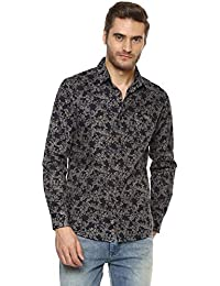 Mufti Mens Slim Fit Casual Shirt