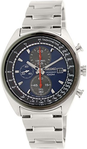 Seiko-Chronograph-sndf89p1-Watch-Men-Quartz-Blue-Dial-Bracelet-Steel-White