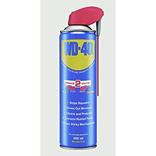 2 X WD-40 Smart Straw Allows Wide And Precise Spray 450ml