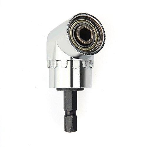 """105° Grad 1//4/"""" Winkelaufsatz Winkelschrauber Vorsatz Adapter Winkelgetriebe Bohr"""
