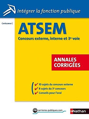 ATSEM - Annales corriges