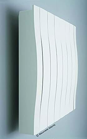 radiateur à inertie - atlantic - galpagos pilotage intelligent - horizontal - 1250 watts - blanc