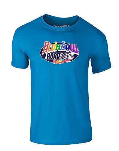 ind-Druckten T-Shirt - Azurblau 12-13 Jahre ()