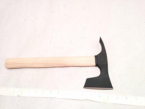 mapsyst Kleine Bärtige Axt/Beil/Axt mit Dechsel Blade Bushcraft - Stahl 4150