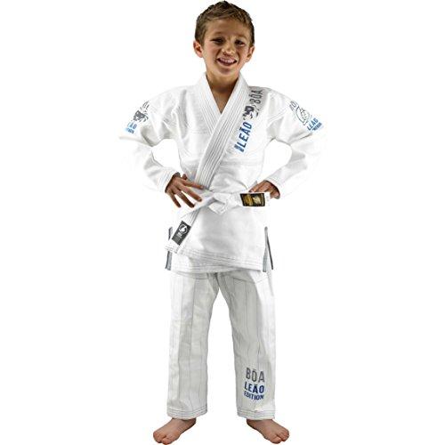Bõa Kinder Kimono Leão 2.0 Bjj Gi, Weiß, M5