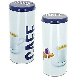 Promobo -Boite A Capsules Dosette Senseo Café Tag Inscription Luxe Prune