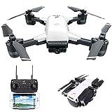 le-idea Drohne IDEA10 - Faltbare Drohne mit 1080P 120° FPV WiFi Kamera HD live übertragung - GPS Return Home - Follow Me,Quick Shot RC Helikopter,Anfänger und Experte