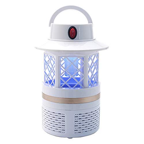 ZJRA UV-Mückenfalle Lampe, USB-Mücken Inhalator Bug Trap Wasserdicht 2 in 1 USB-Mückenvernichter LED-Laterne Sicher Für Kinder Kleinkinder Notfälle