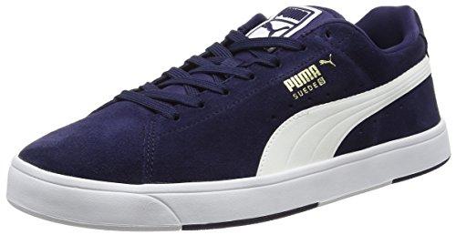 Puma 356414 B, Baskets mode homme Multicolore (Peacoat/White)