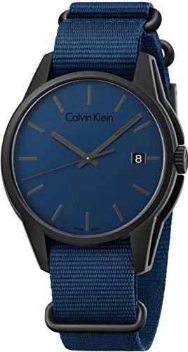 Calvin Klein TONE K7K514VN Montre élégante pour hommes Fabriqué en Suisse