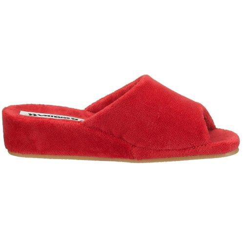 Romika Paris Damen Pantoffeln Rot (hibiskus 450)