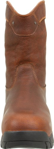 Timberland PRO Men's Helix Wellington Waterproof ST Work Boot,Brown/Brown,10 M US Marron