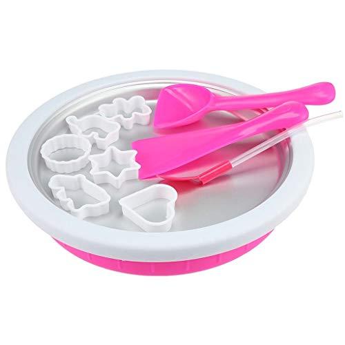 Makang Fried Ice Cube Fai da Te Macchina per Il Gelato Bambini a casa Yogurt Fritto Macchina Fai da Te Mini Gelato Popsicle Muffa Strumento Cono