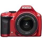 Pentax K-x Appareil photo numérique Reflex 12.4 Mpix Kit Objectif 18-55 mm Rouge