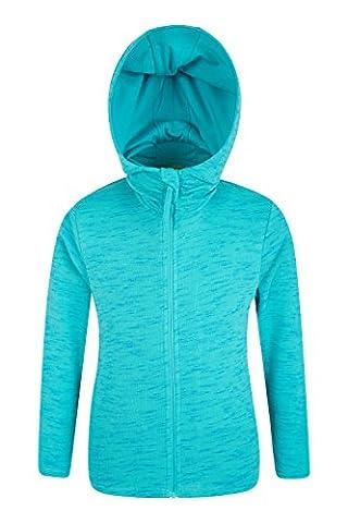 Mountain Warehouse Sweat -shirt à capuche Enfant Fille Maisy Sarcelle