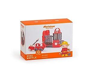 Marioinex 902530 Mini Waffle Fireman, tamaño Grande