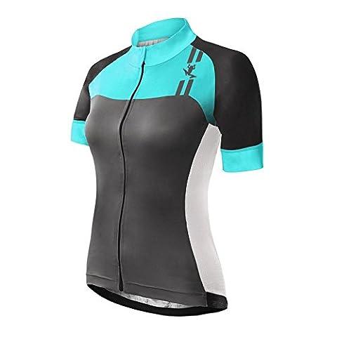 Uglyfrog UFNDZ10 Nouveaux Femme VTT Vêtements Cyclisme Maillot manches courtes pour l'été Cycle Bike shirt vélos Top Maillot de cyclisme Cyclistes Jersey