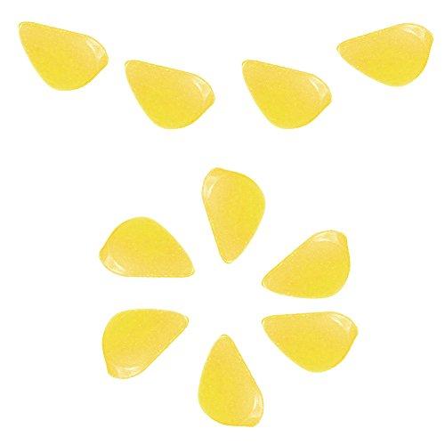 6SHINE HEISS !! Aquarium dekorativer Glühen-Steinnachtfelsen leuchtende gefälschte Umweltfreund(Gelb)