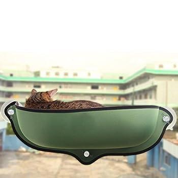 Myyxt Hamac de chat Meunier Cage de fenêtre Durable robuste Nid de demi-cercle Soleil , A