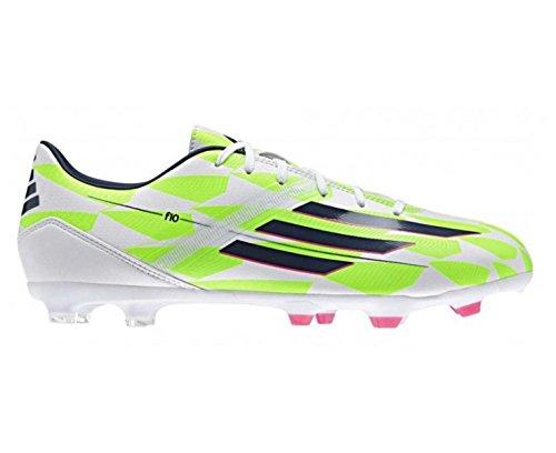 adidas F10 FG Messi Scarpa da Calcio Uomo Cwhite/Ricblu/Sgreen