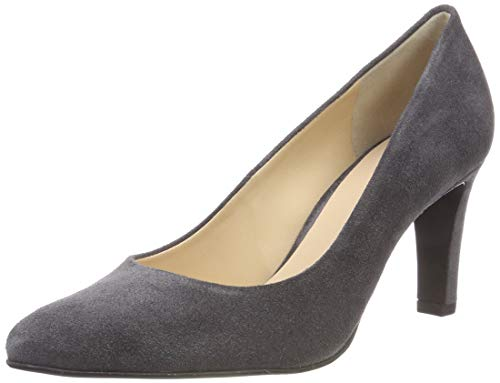 Högl Damen Bonnie Pumps, grau (darkgrey 6600), 39 EU -