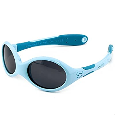 ActiveSol gafas de sol para BEBÉ | NIÑO | 100% protección UV 400 | polarizadas | irrompibles, de goma flexible | 0-24…