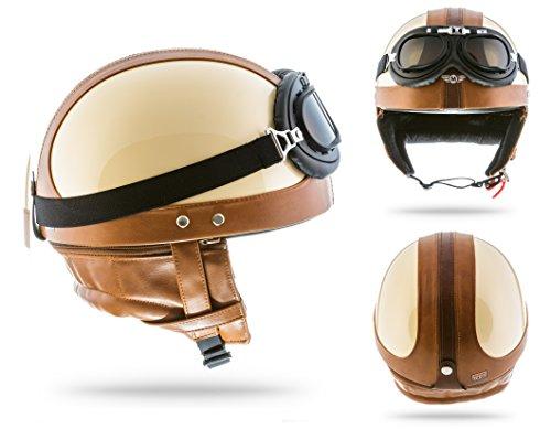 moto-helmets-set-d22-casque-de-moto-vespa-bobber-style-vintage-bol-avec-housse-en-plastique-et-lunet