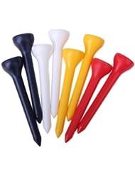 100 Piezas De 49 Mm Color Mezclado Plástico Tees De Golf