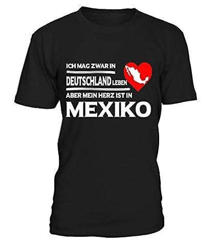 Mein Herz Ist In Mexiko T-Shirt Unisex von