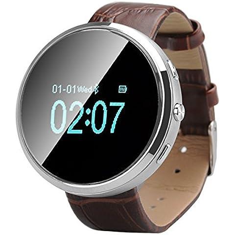 D360intelligente orologio Bluetooth con rubrica Sync–Risposta + effettuare chiamate, record