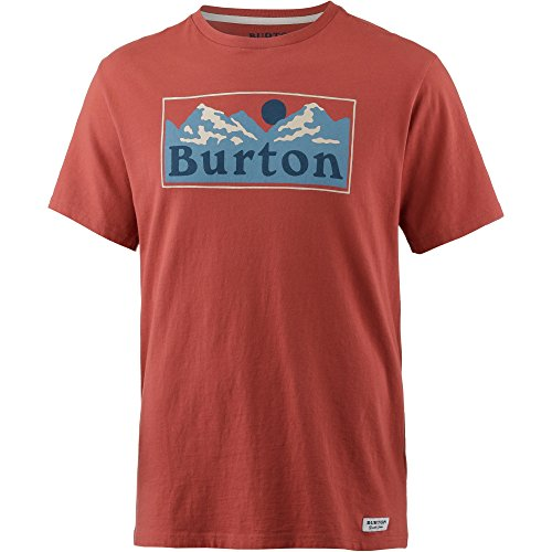 Pre-short Sleeve Graphic T-shirt (Burton Herren Ralleye Shortsleeve T-Shirt, Tandori, M)