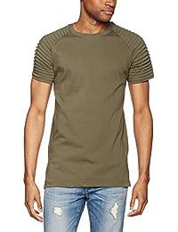 Urban Classics Herren T-Shirt Pleat Raglan Tee