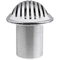 Sharplace Colador de Acero Inoxidable Accesorios de Fontanería de Barco Roscado - Plata, 1.3 pulgadas