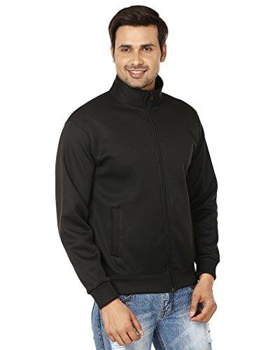 EPG Mens Black Full Sleeve Jacket